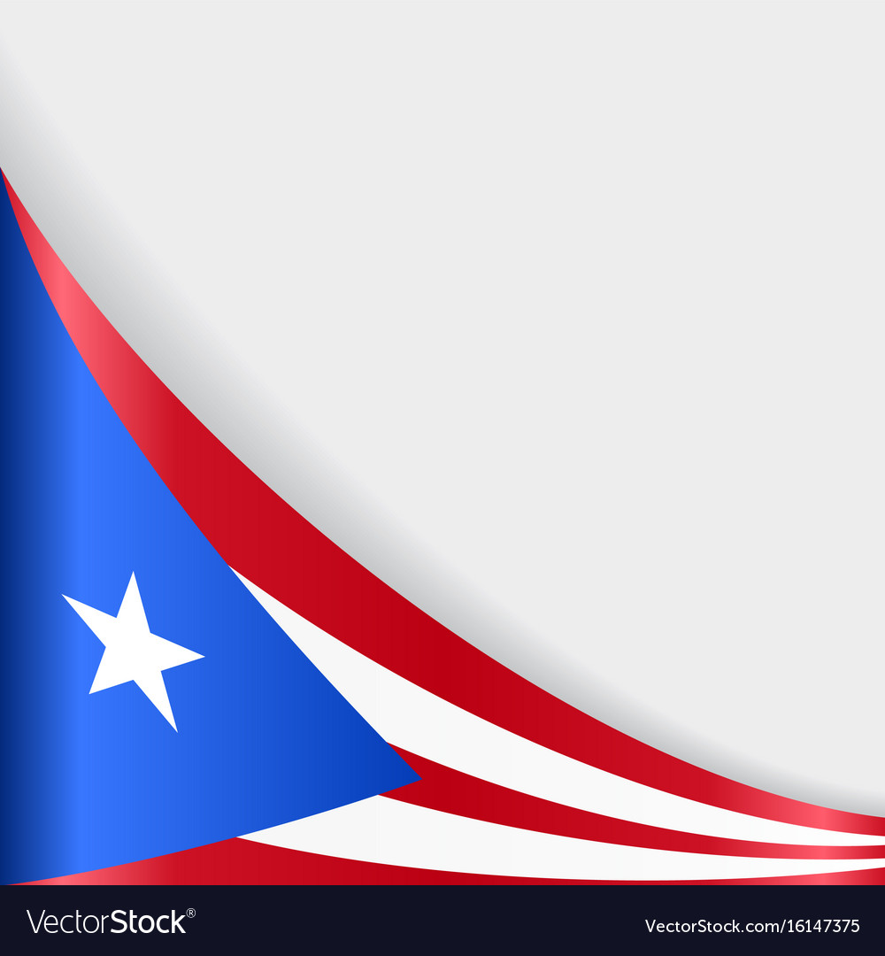 Puerto Rican Flag Background Royalty Free Vector Image