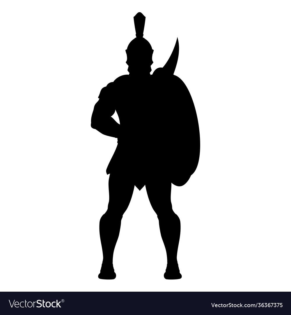 Sparta silhouette 0004