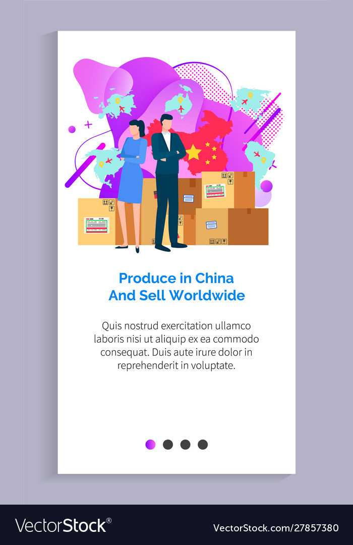 Produce in china and sell worldwide website info