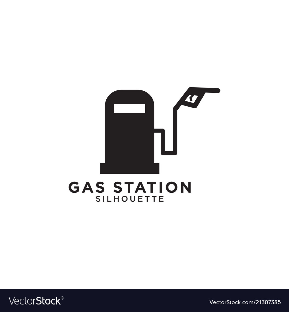 Gas station graphic design template