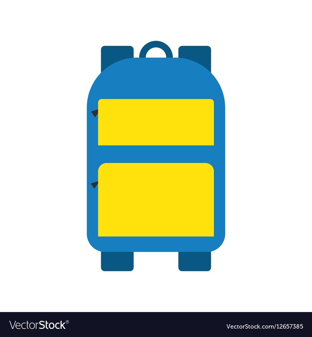 School bag isolated