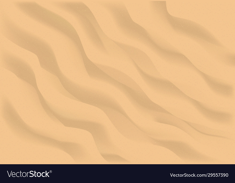 Beach sand background top view mesh