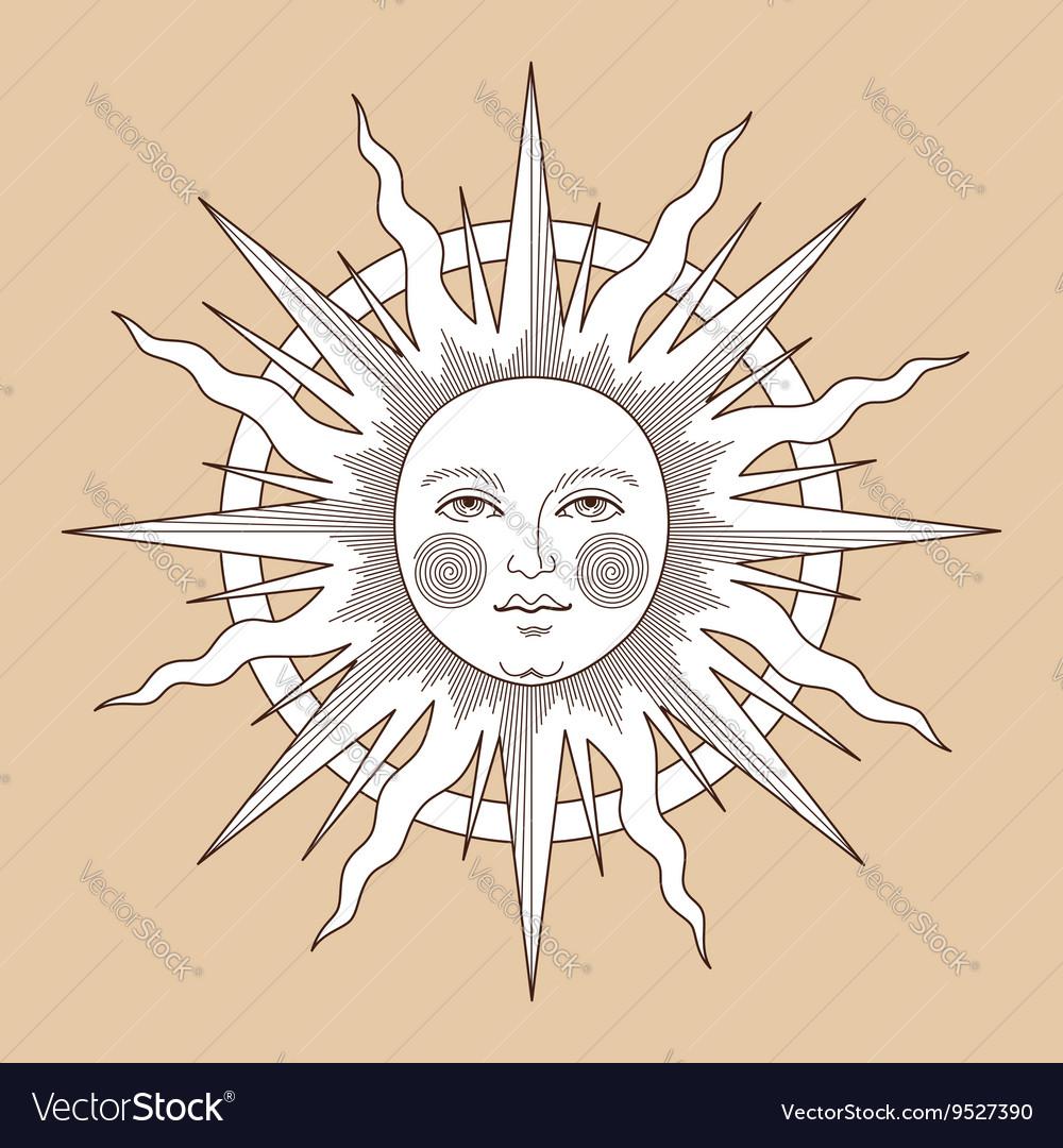 Heraldic sun ring