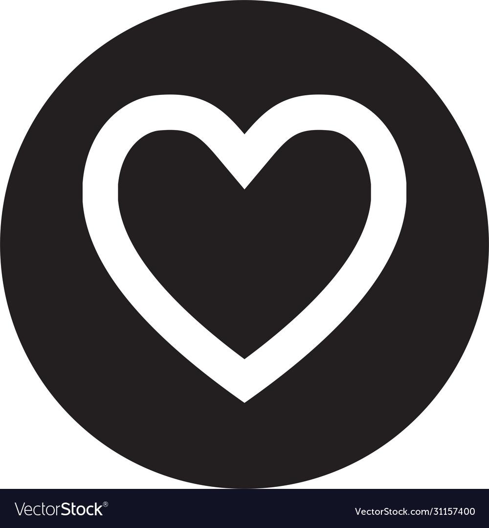 Heart icon love hearts