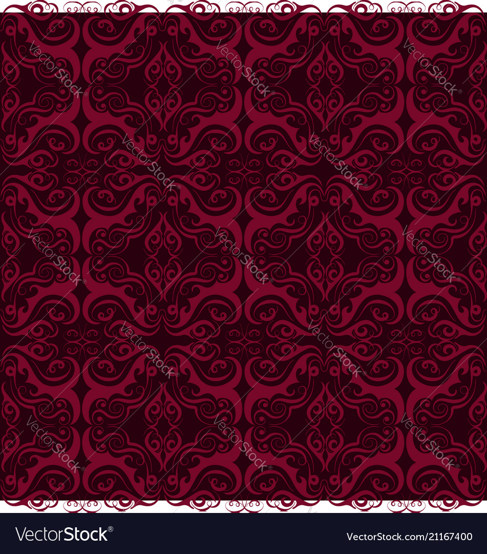 Luxury ornamental background purple damask floral