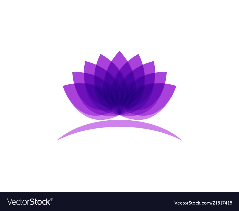 Lotus flower logo and symbols template royalty free vector lotus flower logo and symbols template vector image izmirmasajfo