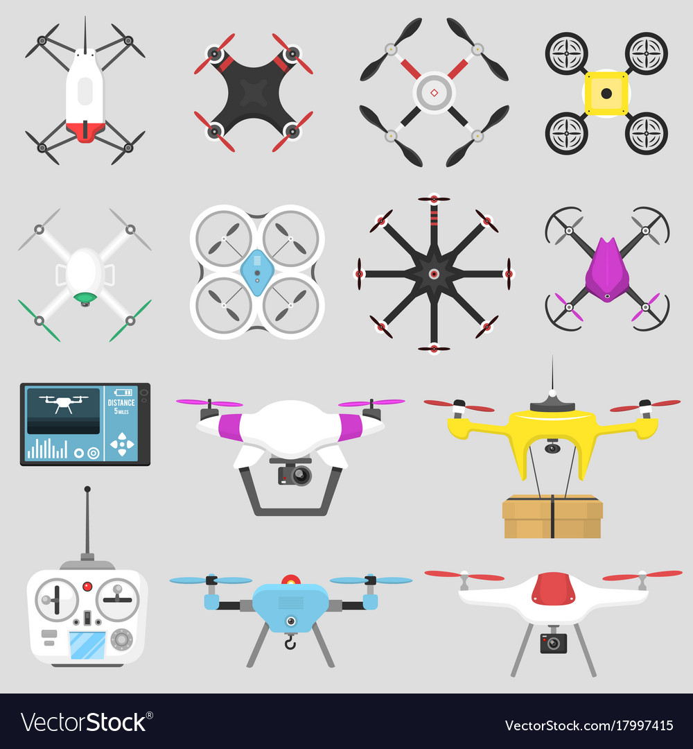 Vehicle drone quadcopter air