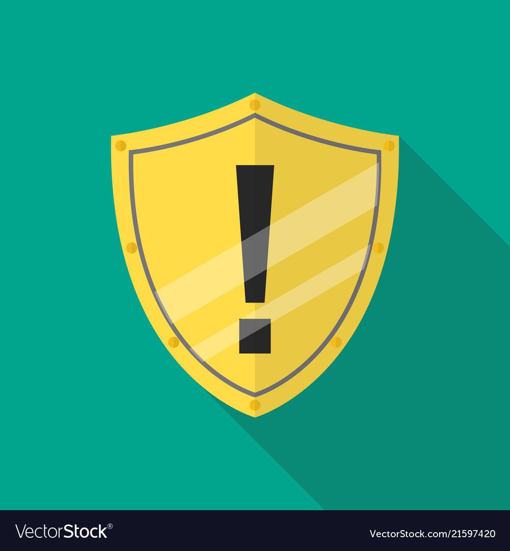 Protective shield alert