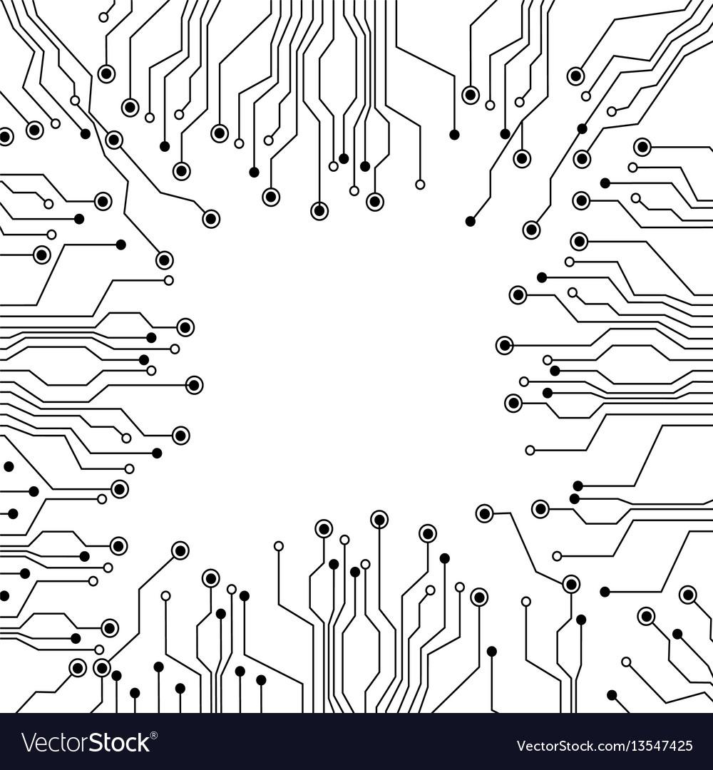 Electrical Circuit Vector Complete Wiring Diagrams Diagram Figure Circuits Icon Royalty Free Image Rh Vectorstock Com