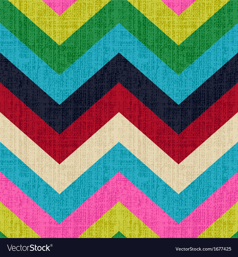 Seamless chevron retro pattern