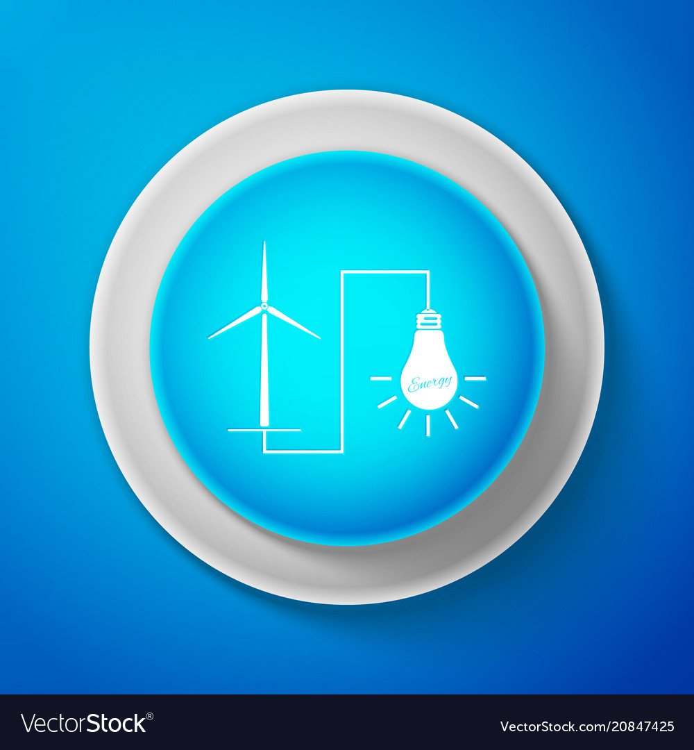 Windmill turbine generating power energy and lamp