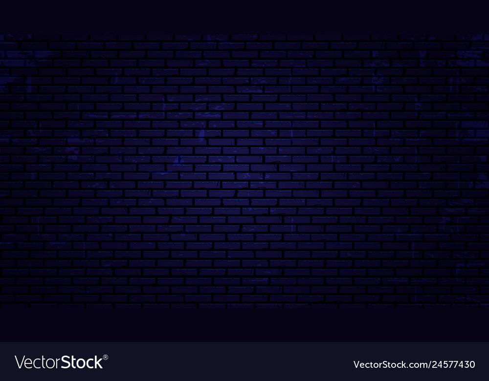 Night brick wall background