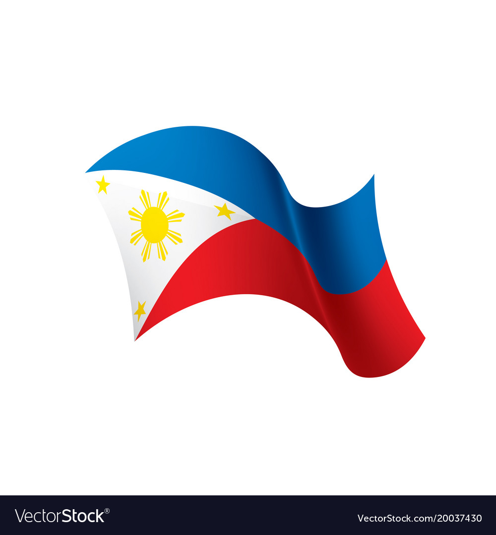 Philippines Flag Royalty Free Vector Image Vectorstock All files were hand drawn in illustrator and are high quality. vectorstock