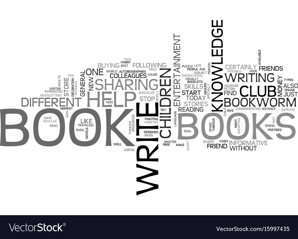 Are you a bookworm text background word cloud vector image