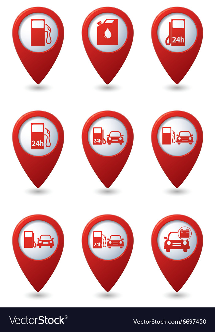 Set of Transport RED pointer