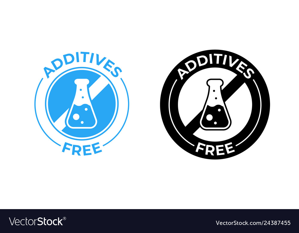 Additives free icon additives free no added