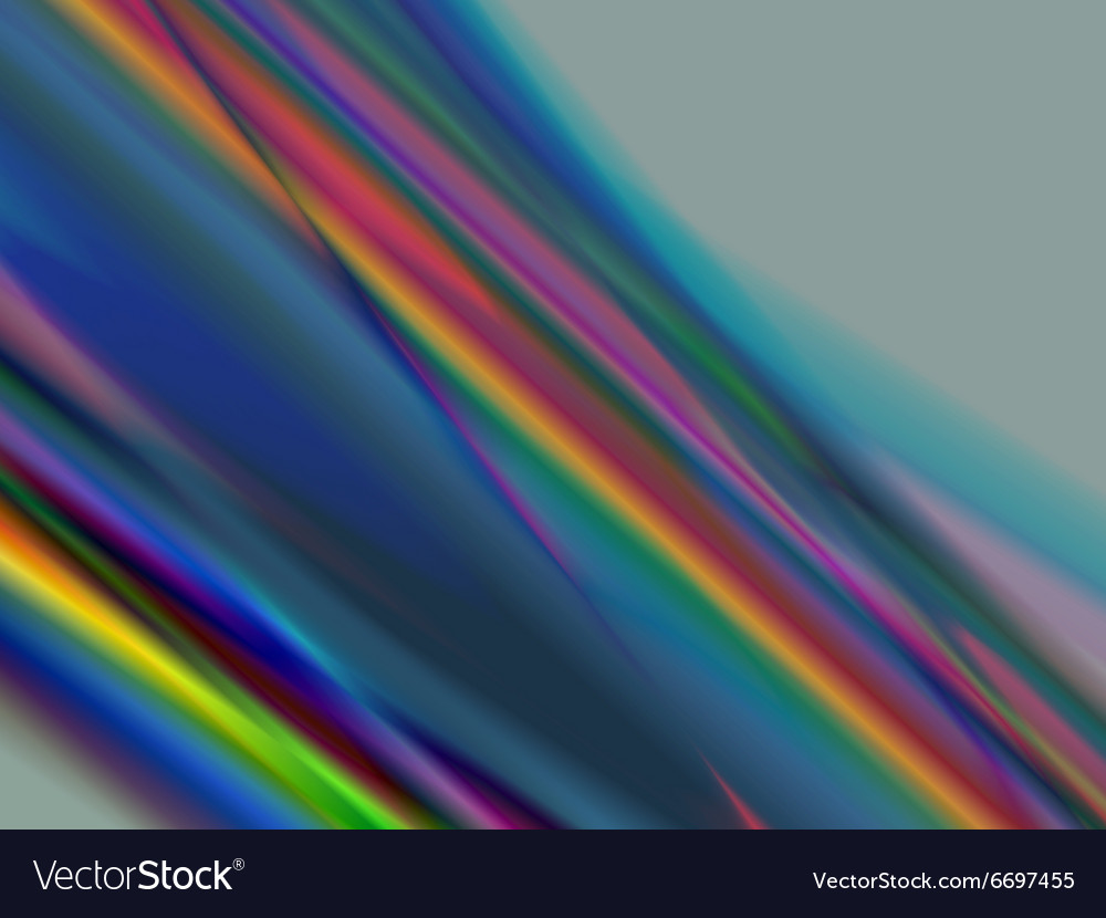 Blurred lines vector image