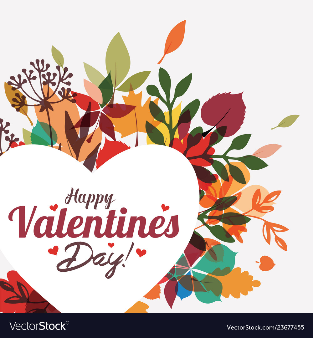 Valentines day greeting card background template