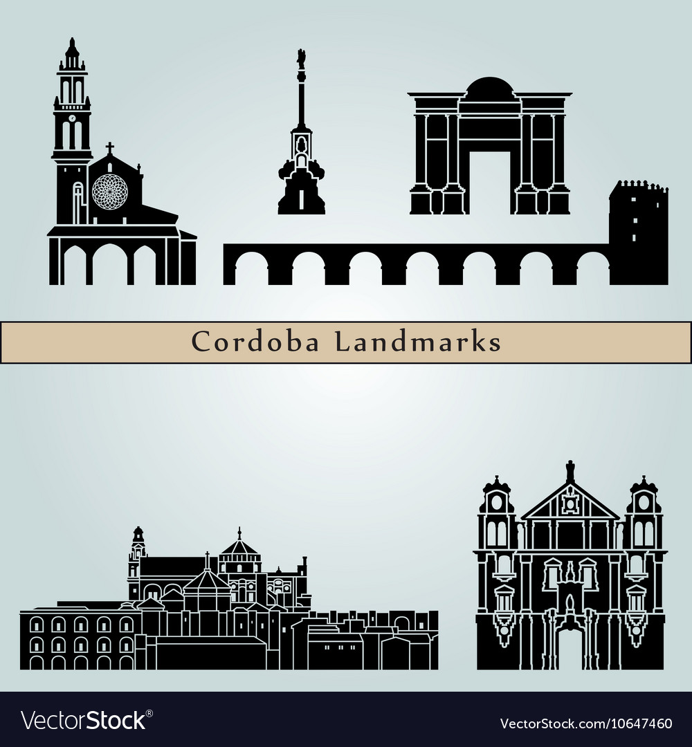 Cordoba landmarks and monuments