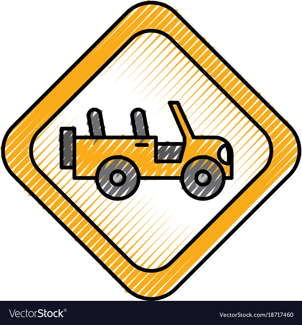 Safari signal road jeep car transport