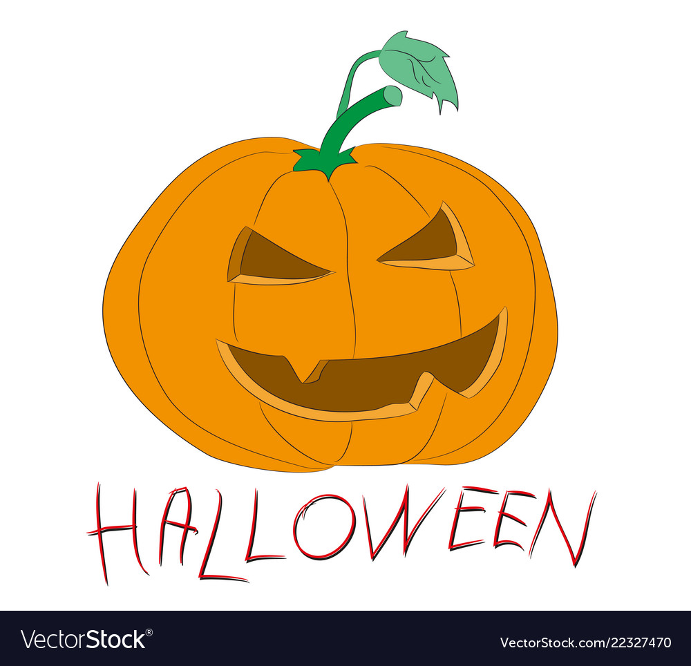 Halloween Pumpkin Drawing Picture.Halloween Pumpkin Drawing Color