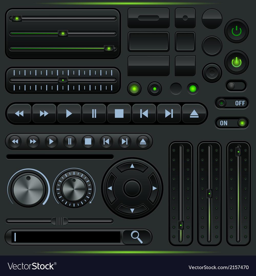 Interface elements set