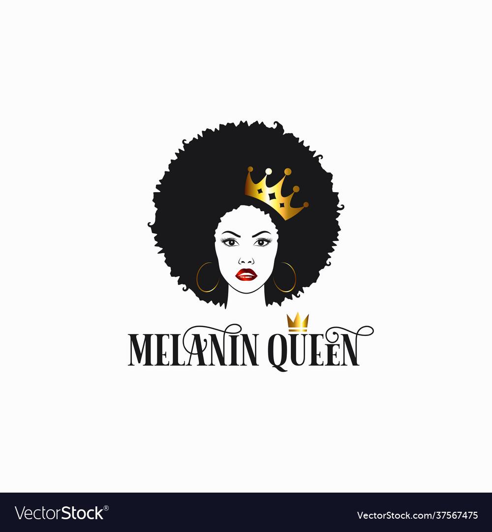 Black women with crown melanin queen royalty