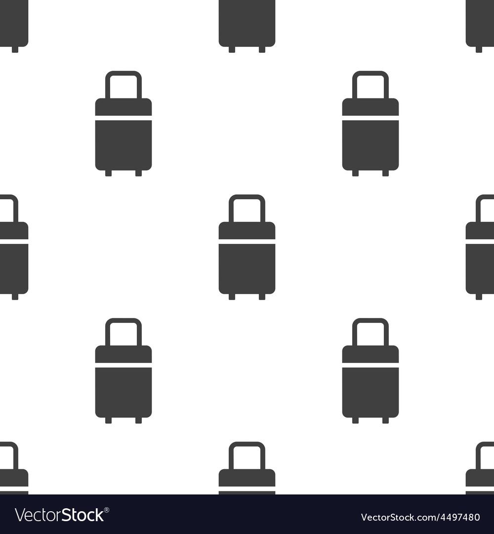Travel bag seamless pattern