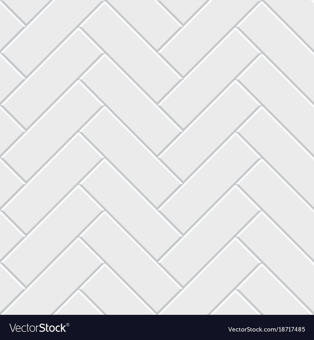 White herringbone parquet seamless pattern