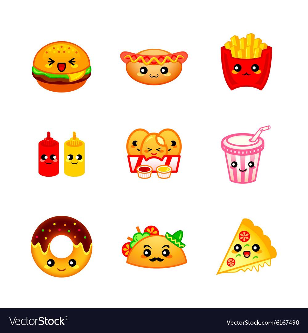 Kawaii fast-food