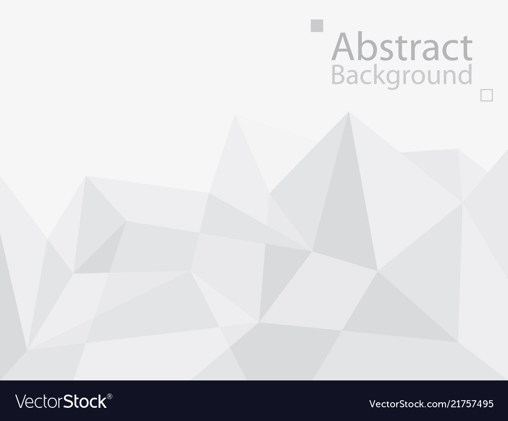 White gray technology background triangle