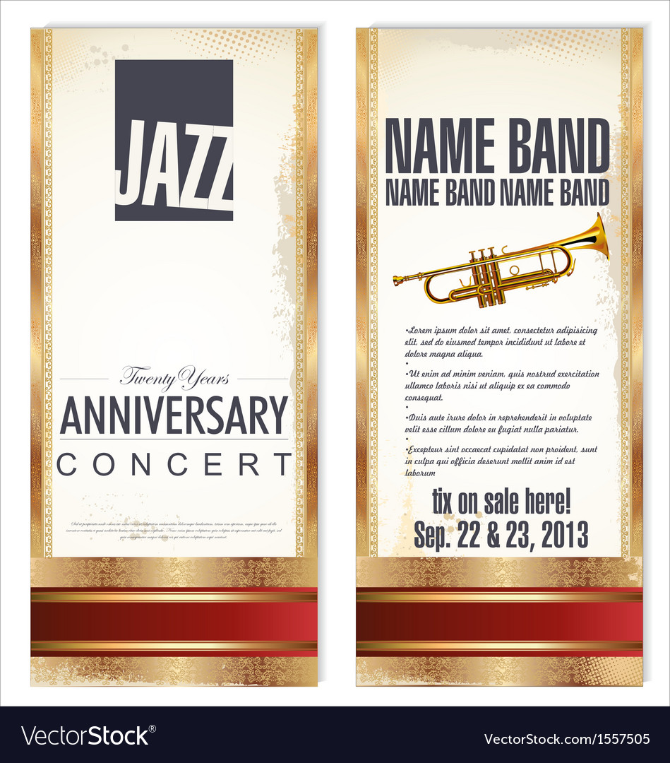 Flyer for jazz festival