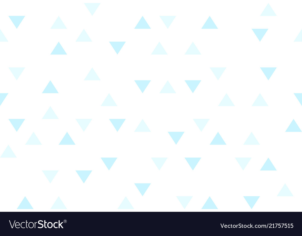 Blue sky colorful abstract triangles retro paper