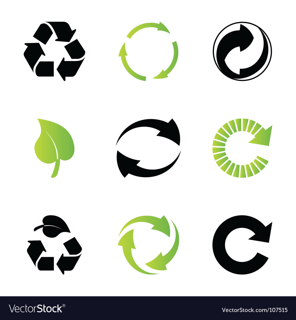 recycle royalty free vector image vectorstock rh vectorstock com recycle vector art recycle victoria bc