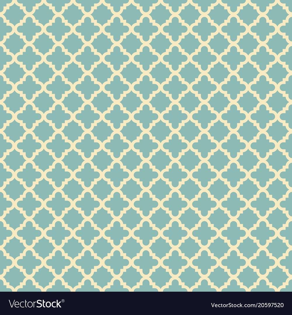 geometric design wallpaper beautiful arabic seamless geometric pattern for wallpaper vector image