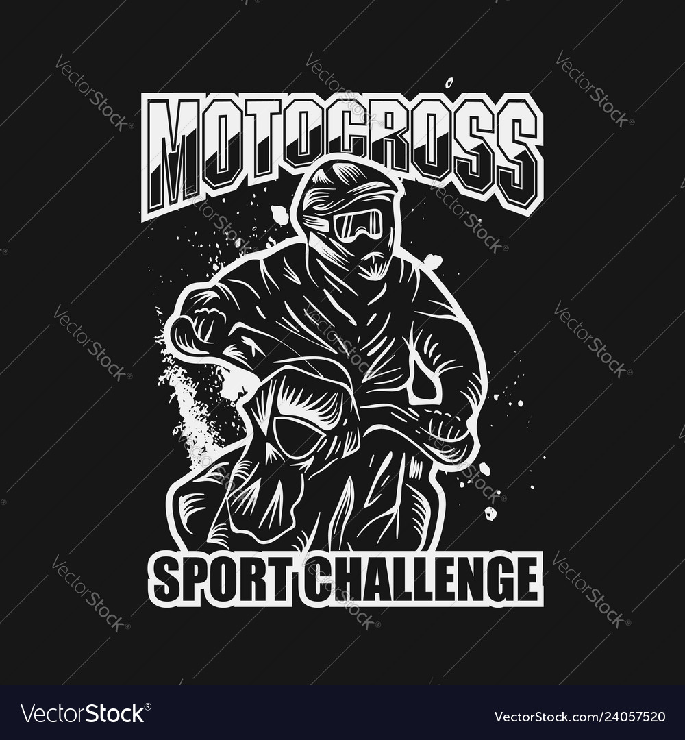 Motocross sport challenge