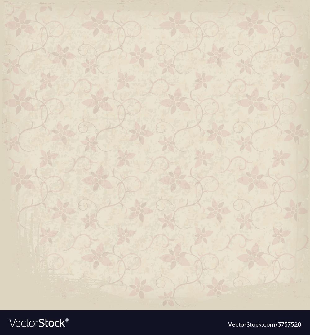 Old Ornamental Paper Background