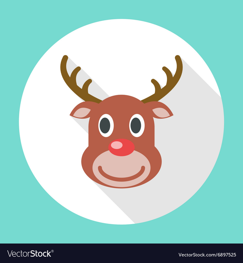 Reindeer Christmas Icon