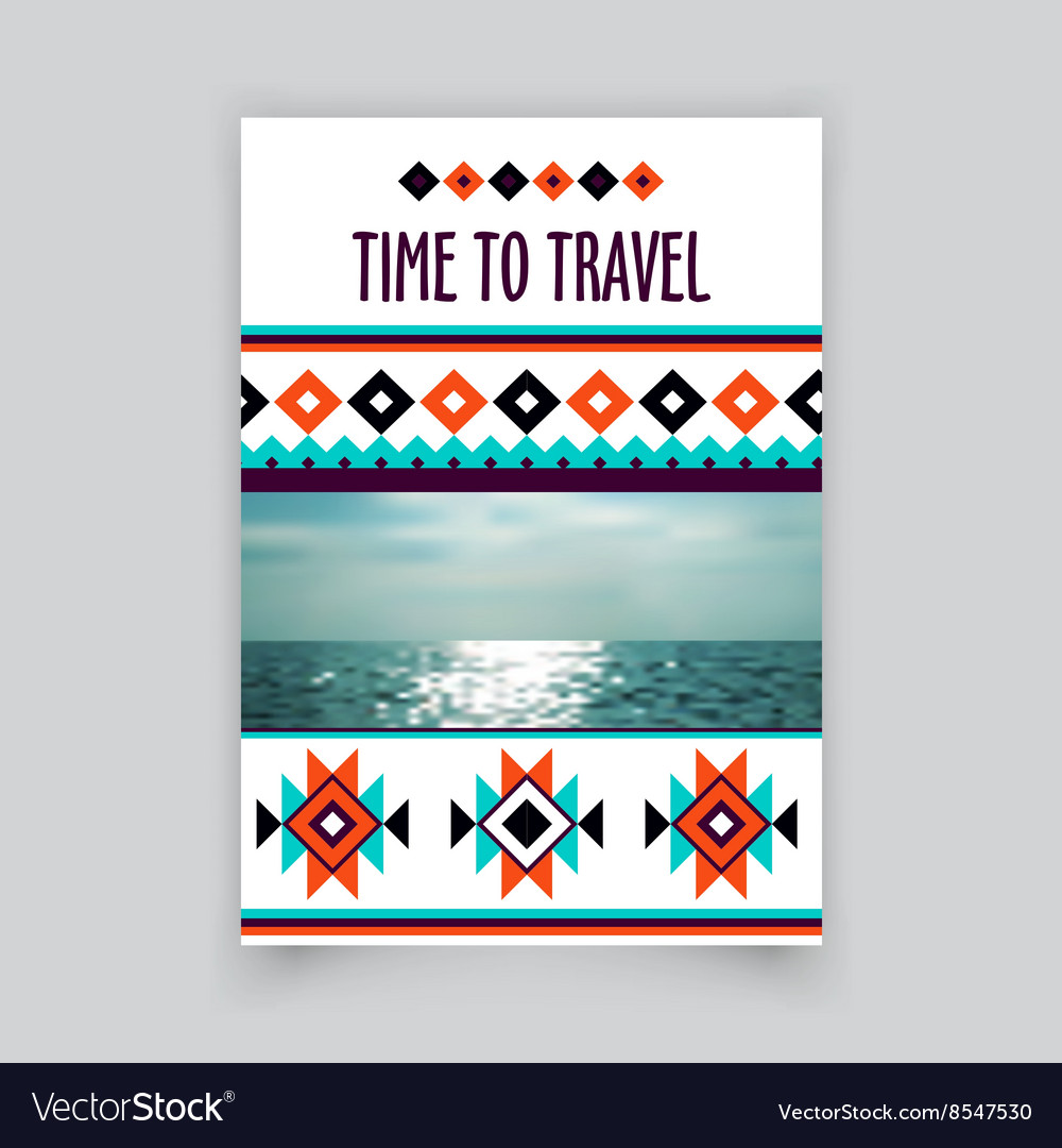 Brochure corporate blank template Tribal