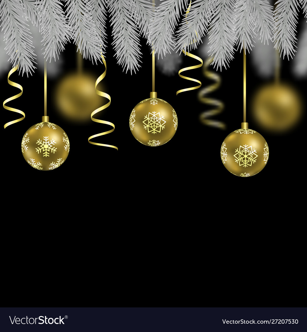 Christmas and new year seamless border