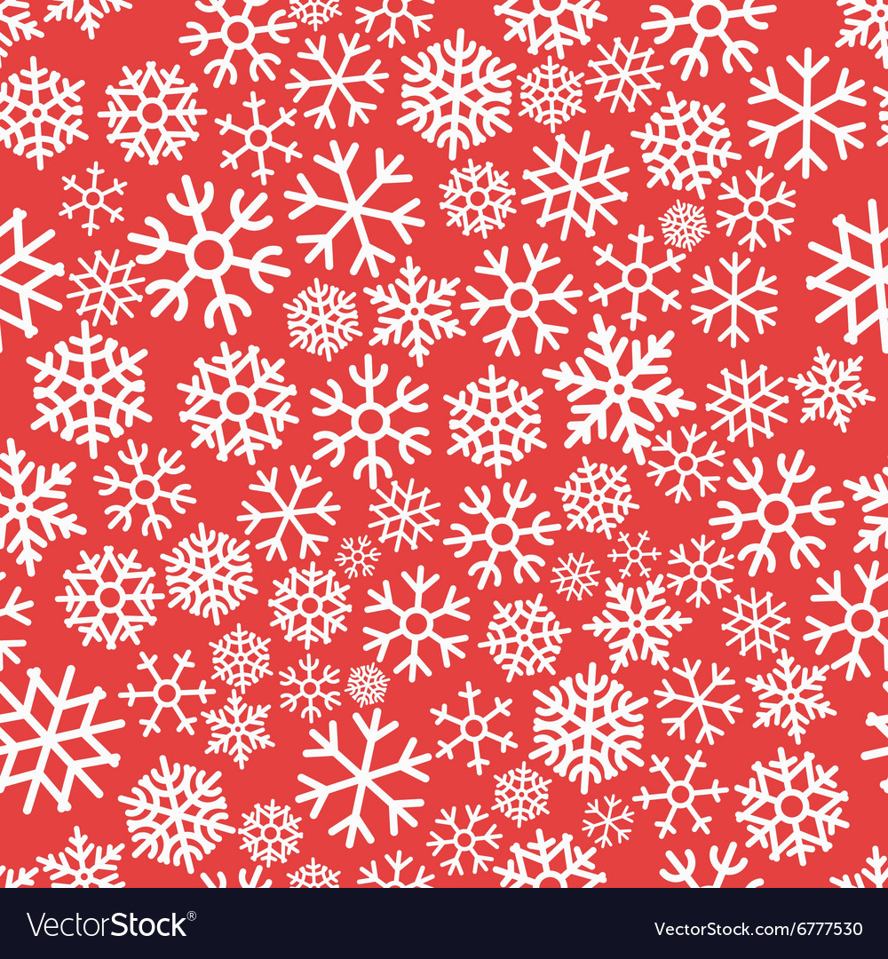 Colorful Christmas Seamless Pattern with