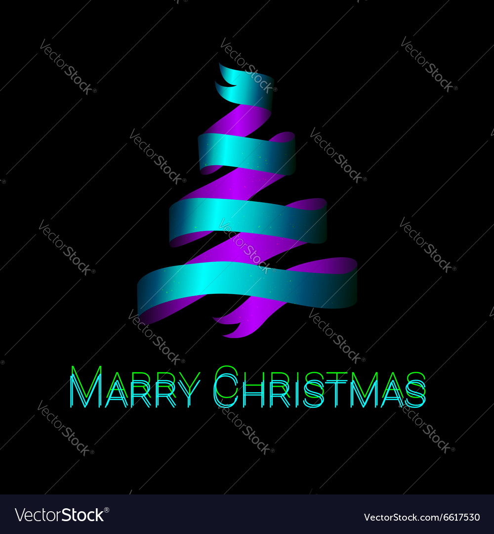 Modern abstract christmas tree background eps10
