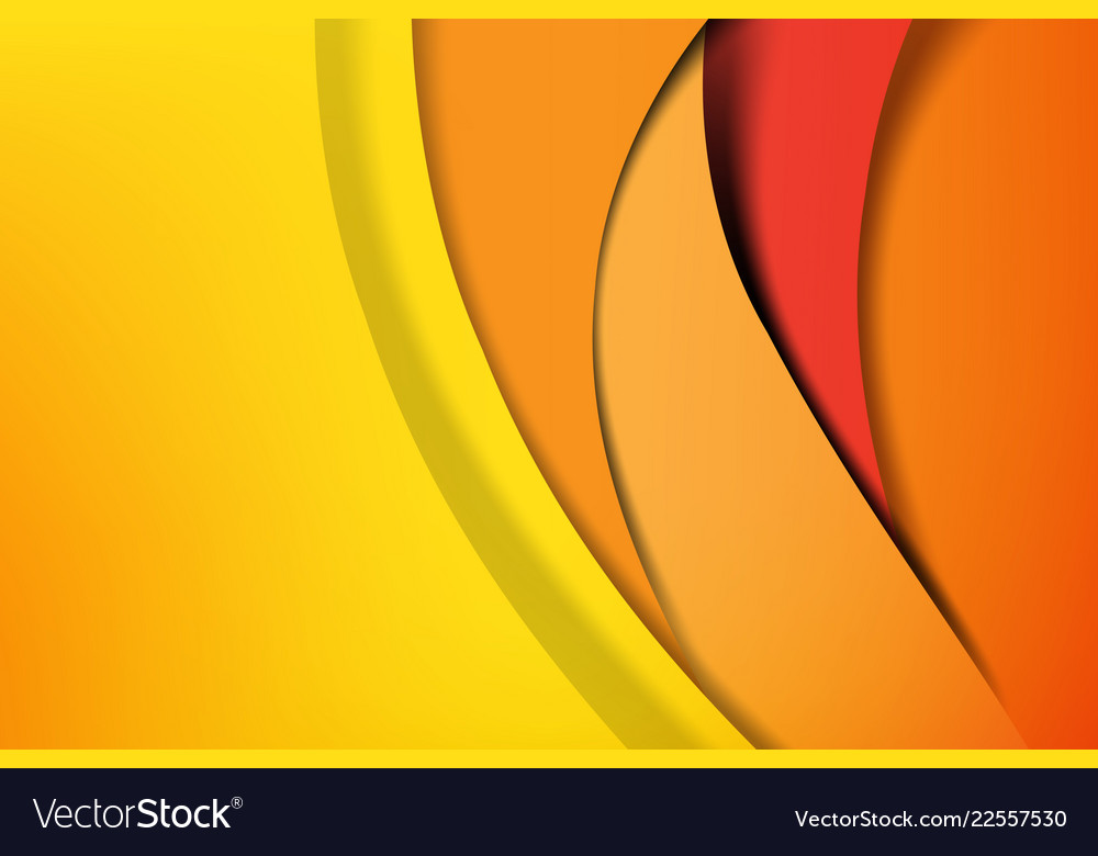 Orange And Yellow Abstract Background Dark And
