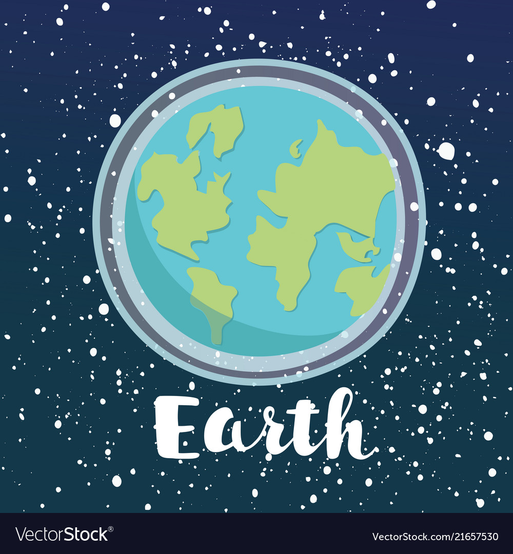 Planet earth icon symbol