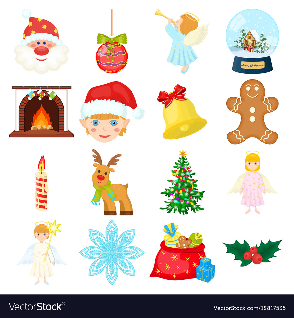 12++ Christmas Cartoon Icons