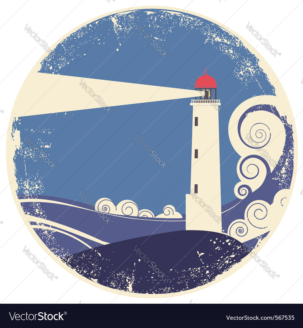 Lighhouse vector image
