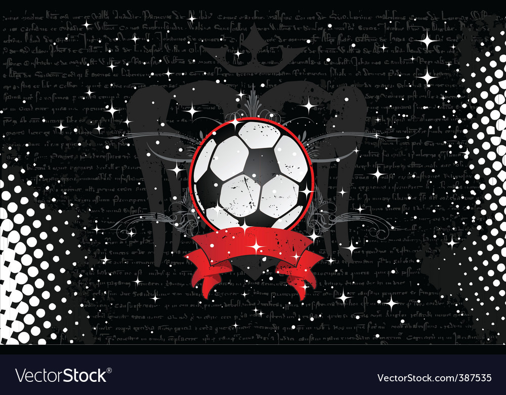 Sports background vector image