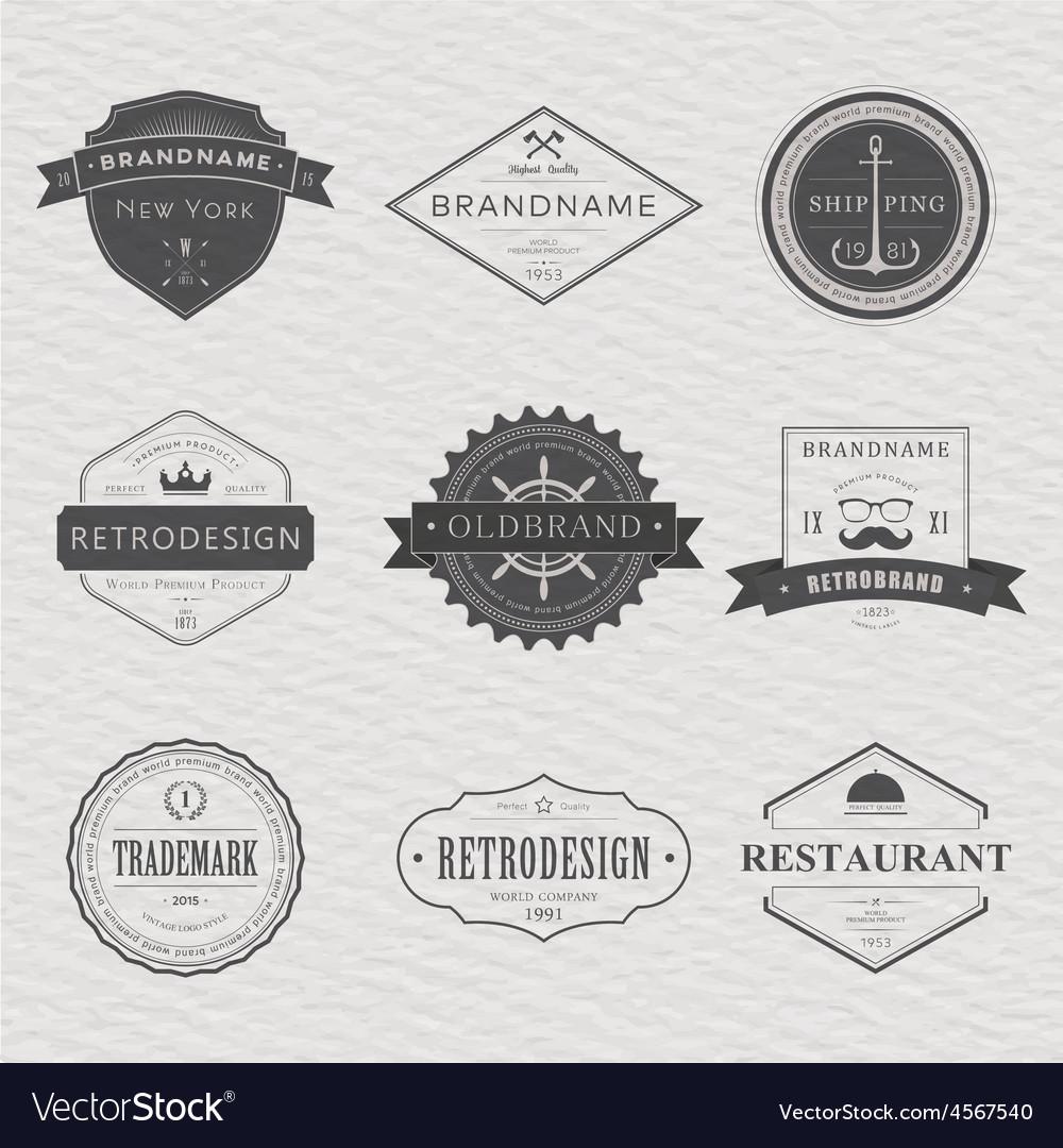 Brand and logo design old tavern badge