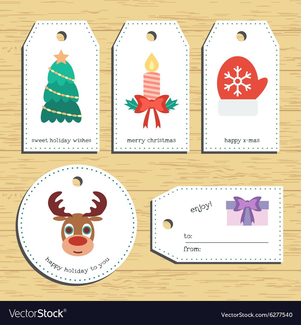 Christmas gift tags Ready to use Christmas