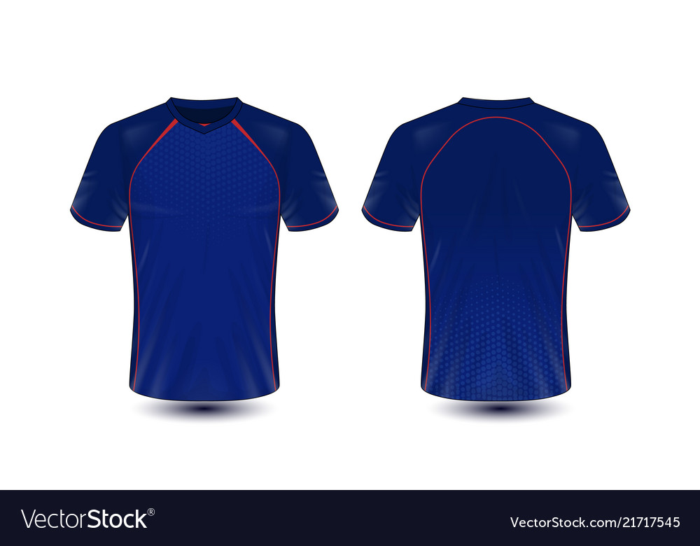 3d1415d55fab Blue and red layout e-sport t-shirt design Vector Image